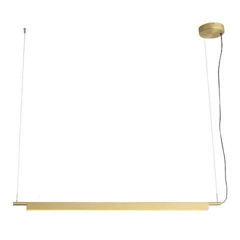 Q1200-GD Lámpara Mondrian L1200*W35*H46 LED 40W 4000K BK