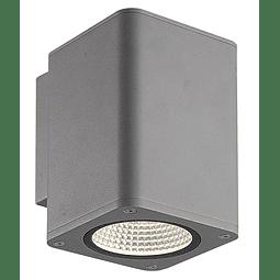 05-2071-03 Nix Luminaria para muro 12W 870Lm 127V IP54 3000K Gris