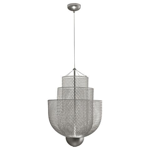 Q48166-NI Lámpara Decorativa LED Cloé Pendant 15W 1200LM 3000K Acabado Niquel