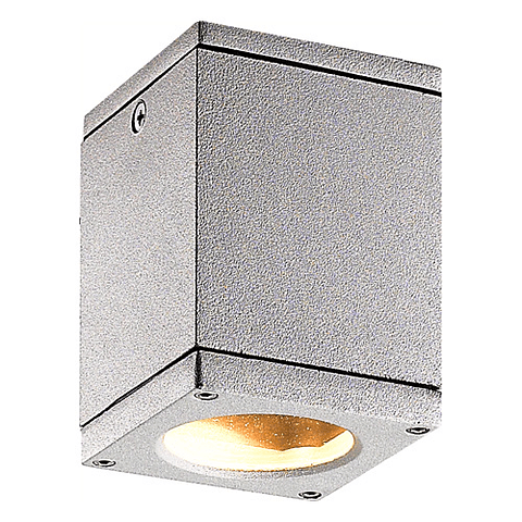 22-7161-03 Lampara a techo ARIES Soquet GU10 127V IP44 Acabado gris