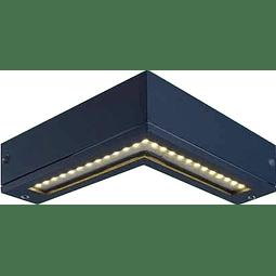 05-1421-04 Arbotante BUMERANG  SMD LED 5W,  130V, IP 54