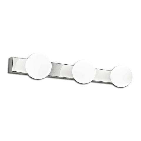Q83035-CH Lámpara para baño Grace Vanity 15W 3000K G9 Acabado Cromo