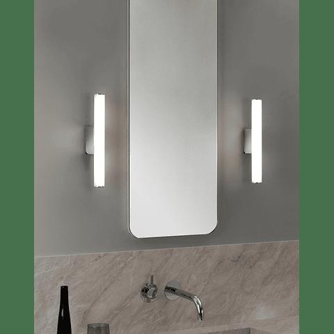 Q83203-CH Lámpara para baño Amsterdam Vanity 5W 3000K Acabado Cromo