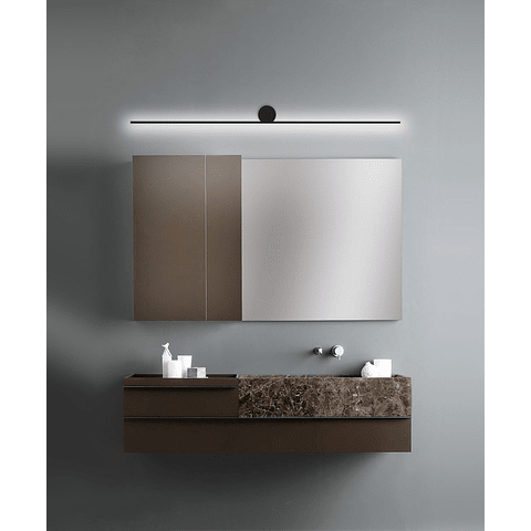 Q83609-BK Lámpara para baño Graff Vanity 10W 3000K Acabado Negro
