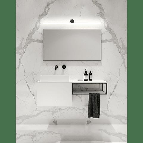 Q83612-BK Lámpara para baño Graff Vanity 15W 3000K Acabado Negro
