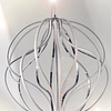 E21178-PC Lámpara Aura LED 18 luces Aluminio