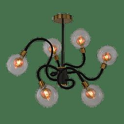 EG-KRAKEN Lámpara Decorativa Colgante 21W G9 3000K Acabado Dorado