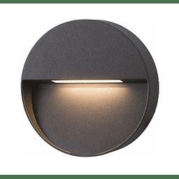 08-1901-04 Lámpara de Cortesía a Muro Kelpie II 6W Blanco Cálido Acabado Grafito
