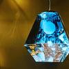 Q20254-SILV Lámpara Glace Acab. Plata 1 Luz 5W 6000K