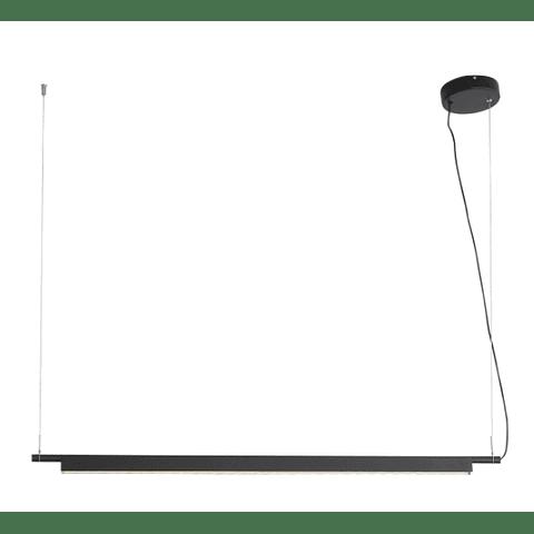 Q1200-BK Lámpara Mondrian L1200*W35*H46 LED 40W 4000K Negro
