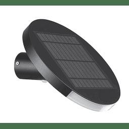 EG-MARTE Arbotante Solar Con Sensor de Presencia 3W 5V 200LM 4000K IP65