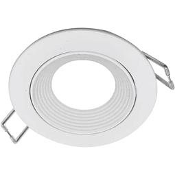 06-2901-01 Nox Aluminio Empotrable D85*26mm Blanco