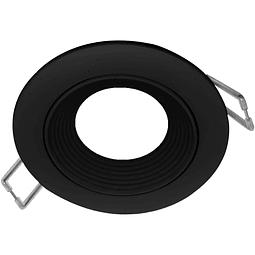 06-2901-07 Nox Aluminio Empotrable D85*26mm Negro