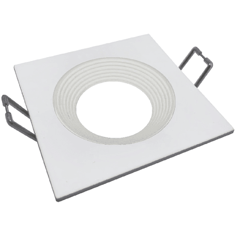 06-2904-01 Nox Aluminio Empotrable 90*90*26mm Blanco