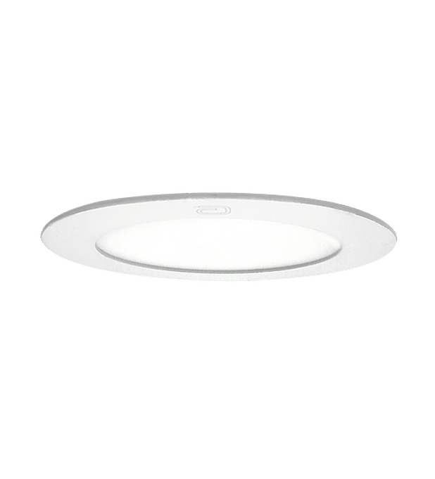 ADO-008 PANEL LED SLIM 12W Redondo Blanco Cálido