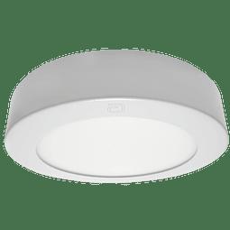 ADO-012 PANEL LED SOBREPONER 12W Blanco Cálido