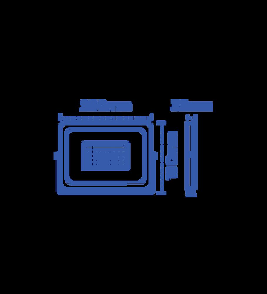 R50 REFLECTOR DE LED 50W IP65 Blanco Frío