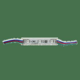 WMO-001 MODULO 3 LEDS SMD5050 RGB EXTERIOR 100 PZS