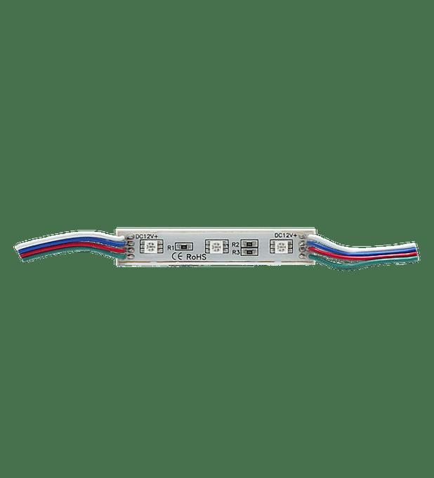 WMO-001 MODULO 3 LEDS SMD5050 RGB EXTERIOR