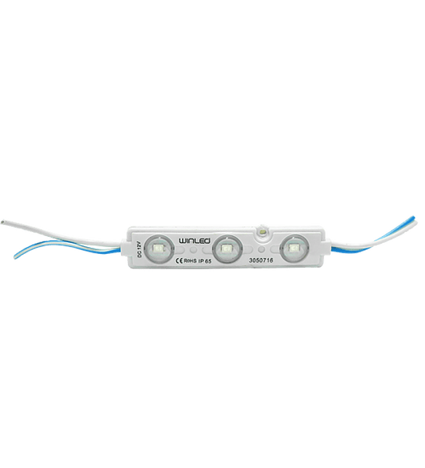WMO-011 MODULO 3 LEDS SMD2835 ROJO EXTERIOR