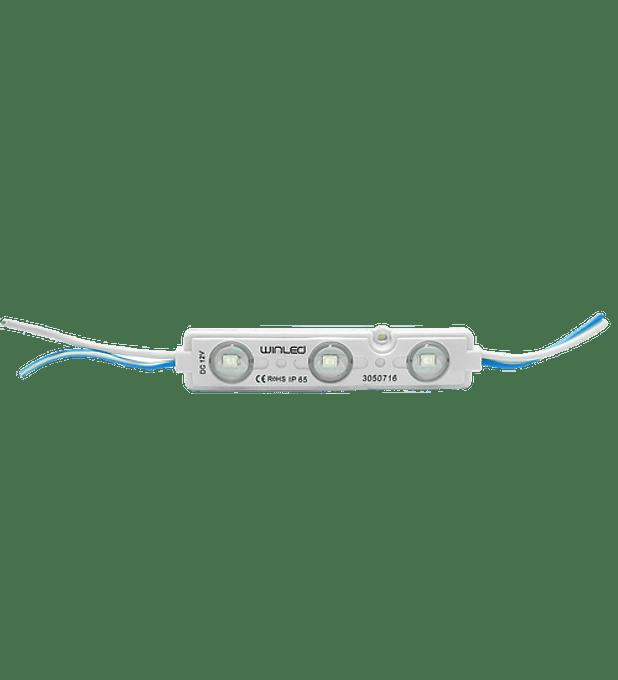 WMO-012 MODULO 3 LEDS SMD2835 VERDE EXTERIOR
