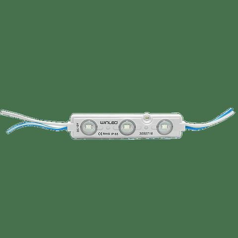 WMO-013 MODULO 3 LEDS SMD2835 AMARILLO EXTERIOR 100 PZS