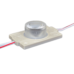 WMO-015 MODULO SUPER LED C/O AZUL 1.4W EXTERIOR 100 PZS.