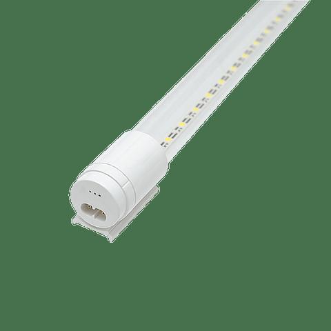WTU-005 TUBO LED T8 18W C/BASE BF TRANSP