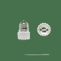 WAD-002 ADAPTADOR DE BASE E26 A LAMPARA GU10