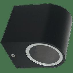 ADE-003-LUMINARIA PARED Cilindro Negra GU10