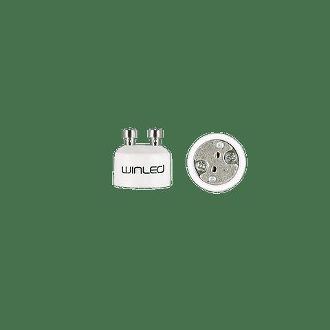 WAD-004 ADAPTADOR DE BASE GU10 A LAMPARA MR16