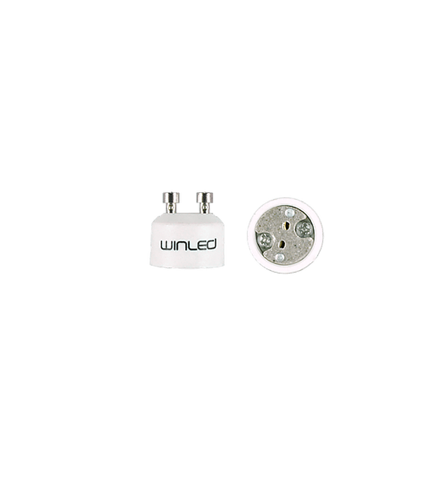 WAD-004 ADAPTADOR DE BASE GU10 A LAMPARA MR16
