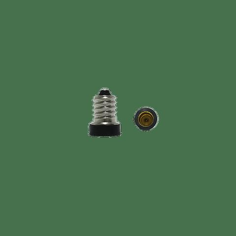 WAD-006 ADAPTADOR DE BASE E14 A LAMPARA E12