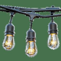ADE-501 EXTENSIÓN DECORATIVA 7.5M NEGRA PARA 12 LAMPARAS E26