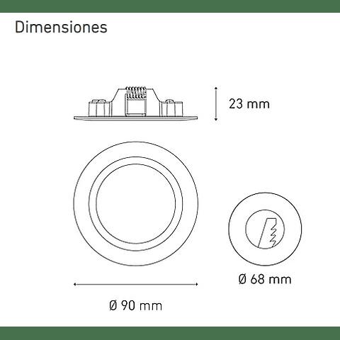LUNA 3 FLAT L6347-1E0 3.5W 100-305V BF 30K BC