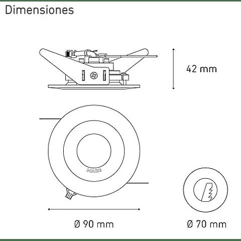 M500 5W L5003-1I9 100-305V 45° 30K BC