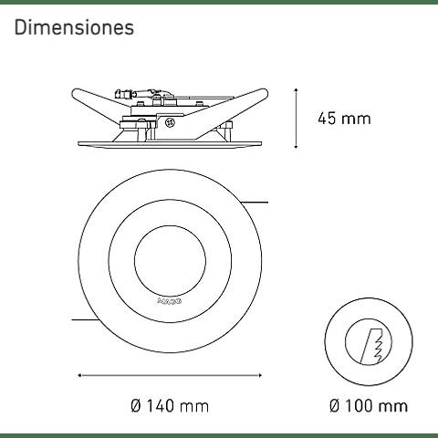 M 750 DOM 8W L5015-1ID 100-305V 40K BC