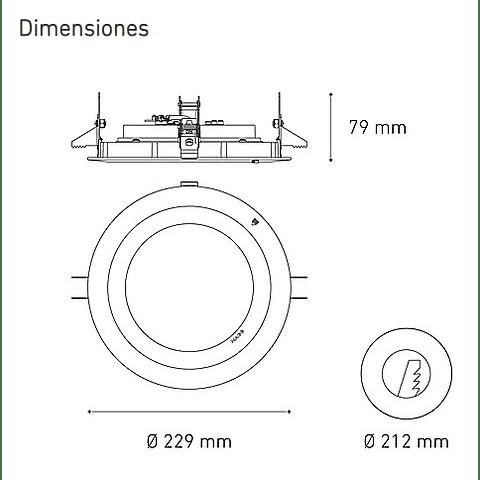 M3600 37W L5040-1I9 100-305V 45° 40K BC