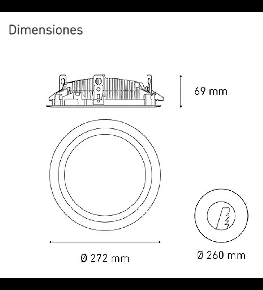 M 7000 DOM 62W L5050-1ID 100-305V 40K BC