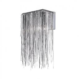 Lámpara Decorativa Adele Pared Q17165-NI, LED 15W  Acab. Níquel
