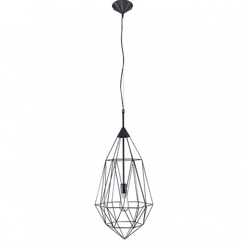 Lámpara Decorativa  DALÍ Q31577-BK Vintage Acab. Negro