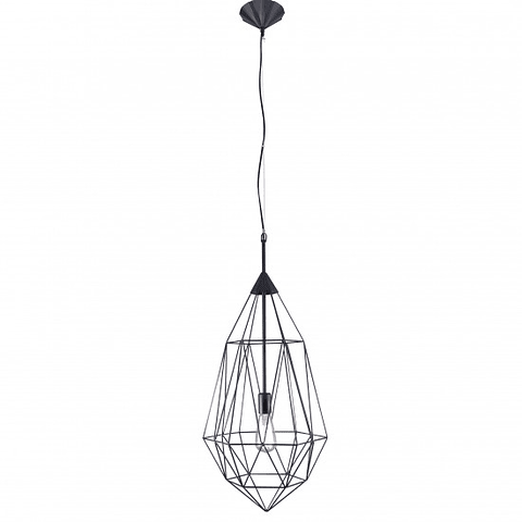 Q31577-BK Lámpara Decorativa DALÍ Vintage Acab. Negro