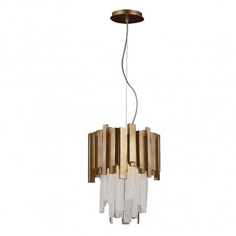 Lámpara decorativa DANAE Q11604-GD Acab. Oro & Cristales