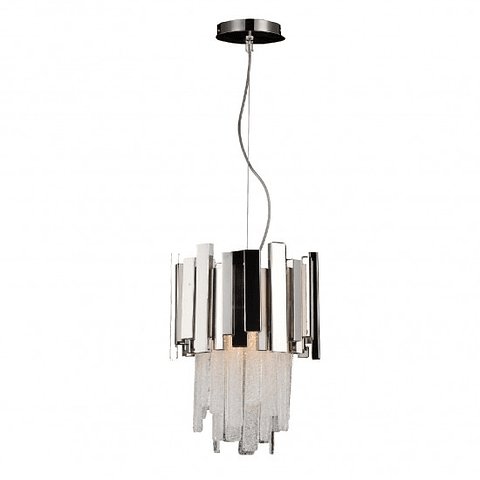 Lámpara decorativa DANAE Q11604-NI Acab. Nickel & Cristales