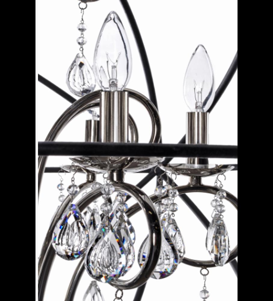 Orbit 4-Luces Colgante Cristal sku 25142ARPN