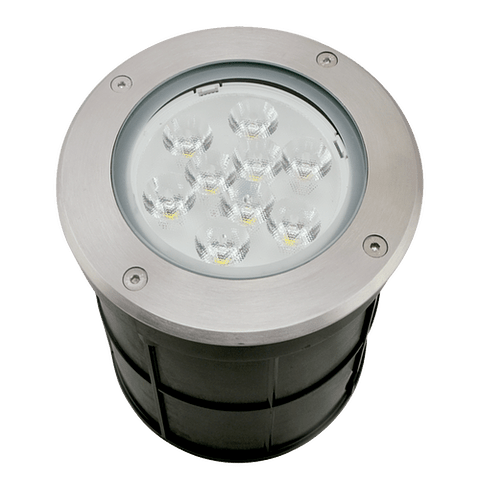 ADE-208 EMPOTRABLE A PISO LED 12W LUZ CÁLIDA