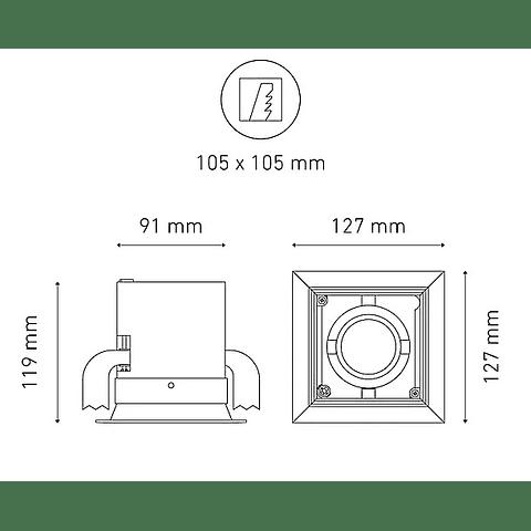 POINTS MINI I L5905-YIL 100-305V 25° 40K NG