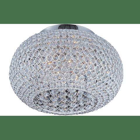 GLIMMER Empotrable a Techo Decorativa 5 Luces Acab. Cristal