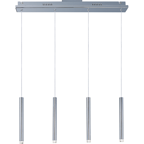 E22274-75PC Lámpara Picolo 4-Luces LED  Lineal Acab. Cromo