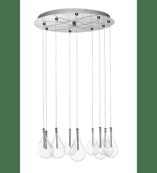 Larmes 9-Light Round Pendant E20115-18
